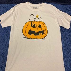 New Peanuts Snoopy Pumpkin Halloween Shirt